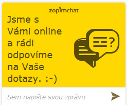 Online chat s pracovníkem zákaznické podpory