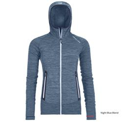 Mikina Ortovox Fleece Light Melange Hoody Ld
